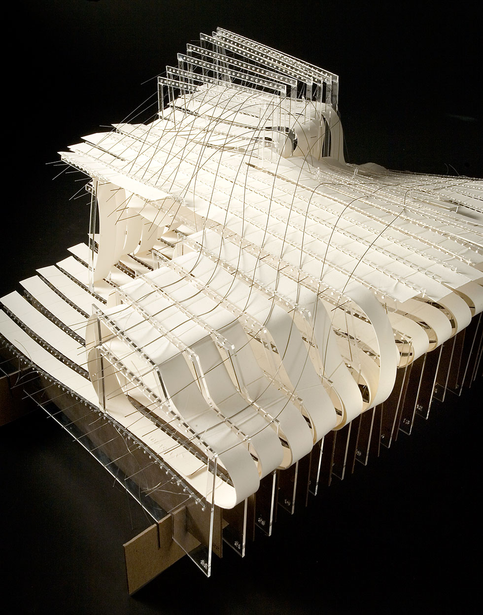 Architecture school physical model