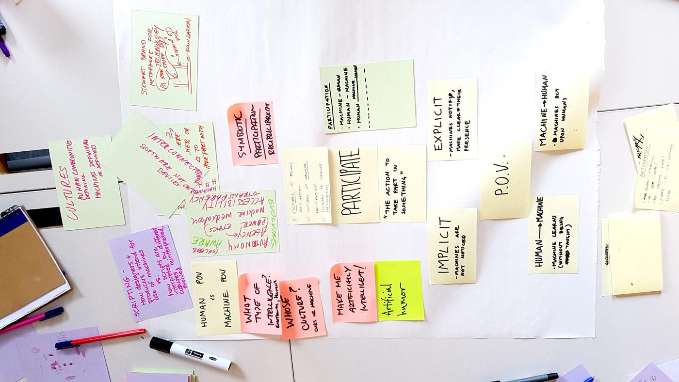 The Cultures of Machine Participation workshop