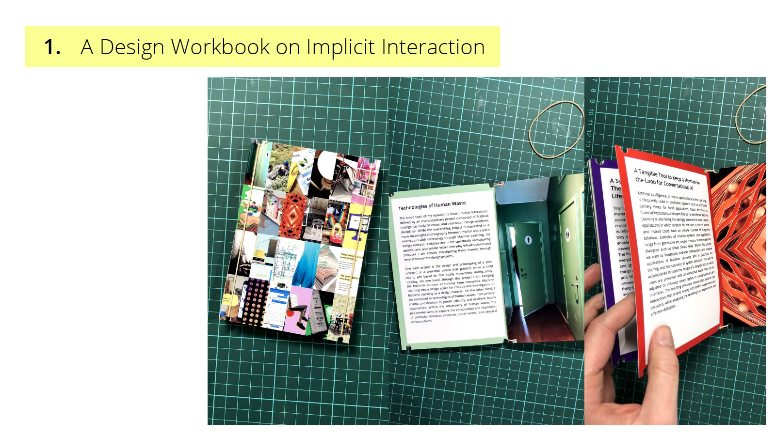 UX of AI presentation - design workbook