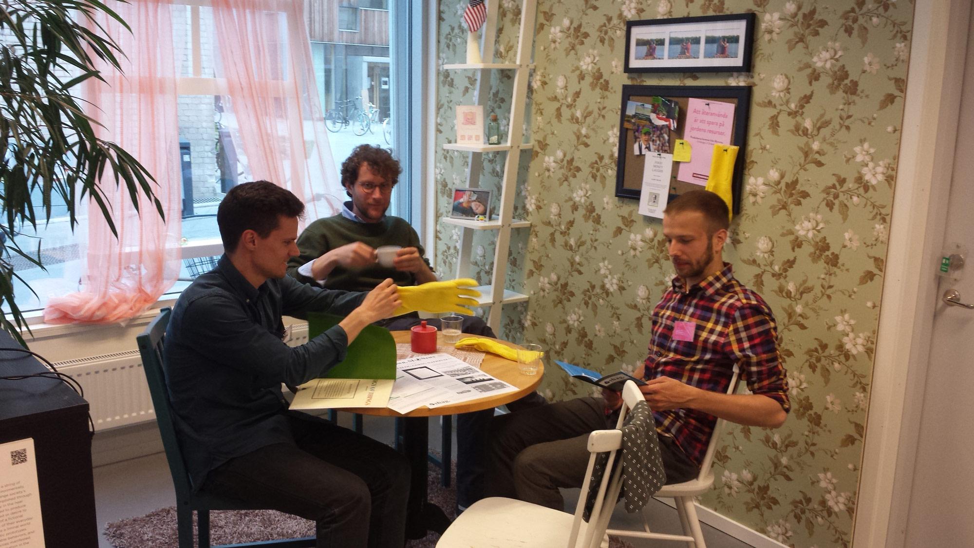 Design Fiction exhibition at Umeå Institute of Design