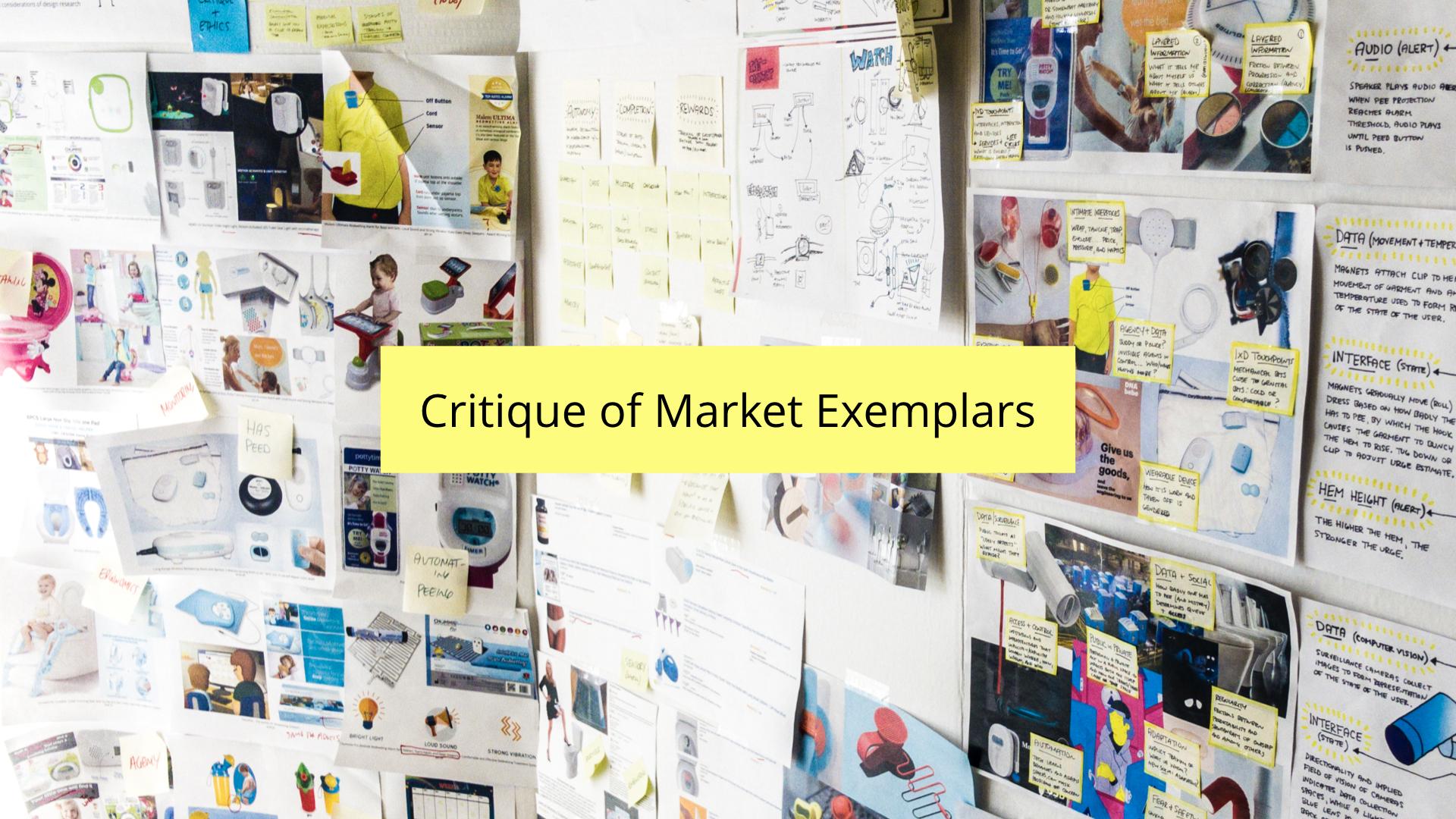 DIS 2019 paper presentation - critique of market exemplars
