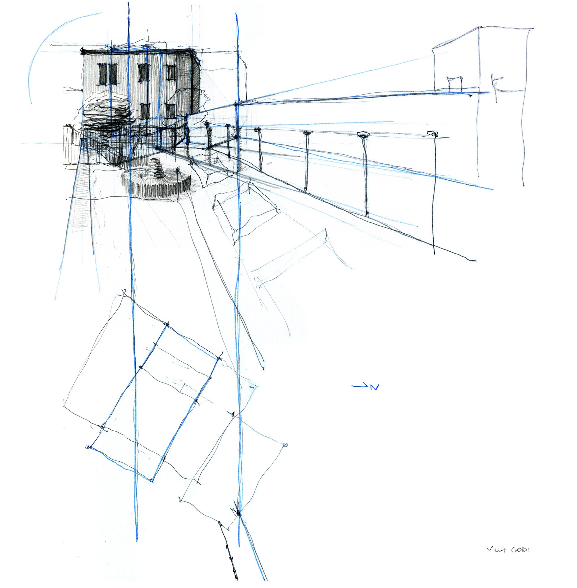 Karey Helms - architectural drawing